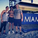 Running with The Raven in South Beach