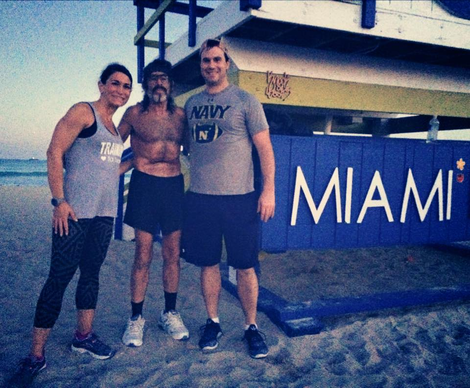 Mary Davis Fitness From Annapolis to Miami running with the Raven